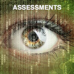 Een close-up van een oog die op de toekomst is gericht